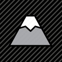fuji, japan, japanese, mount, mountain, nature, volcano icon