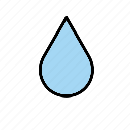 drop, droplet, natural, nature, water, world icon