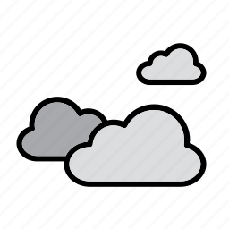 cloud, clouds, cloudy, natural, nature, weather, world icon