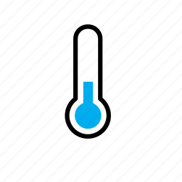 cold, nature, temperature, thermometer, weather, winter icon