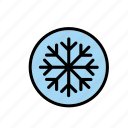 natural, nature, snow, snowflake, winter, world icon