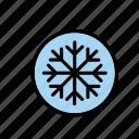 natural, nature, snow, snowflake, winter, world icon