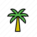 natural, nature, palm tree, tree, world icon
