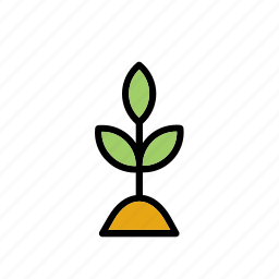 cutting, grow, growing, horticulture, nature, plant, slip icon