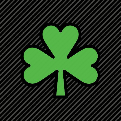 clover, leaf, natural, nature, shamrock, world icon