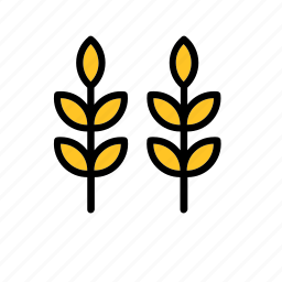 farm, natural, nature, wheat, world icon