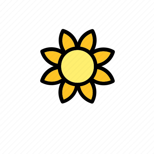 flower, natural, nature, sun, sunflower, world icon