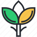 leaflet, leaves, ecology, nature, tree branch icon