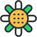 coneflower, dandelion, flower, goldenrod, sunflower icon