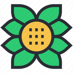 creative flower, decorative flower, flower, flower beauty, generic flower icon