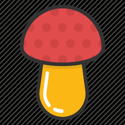 food, fungi, healthy, mushroom, toadstool icon