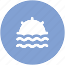 beach, ocean waves, sea, sun and ocean, sunshine icon