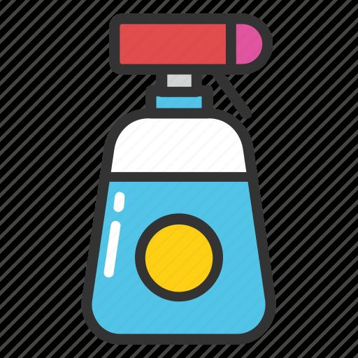 cleaning spray bottle, shower bottle, spray pistol cleaner, spray pump, trigger spray bottle icon