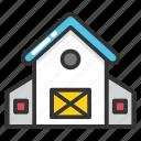 barn, bunkhouse, farmhouse, shack, shed