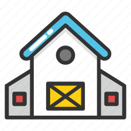 barn, bunkhouse, farmhouse, shack, shed icon