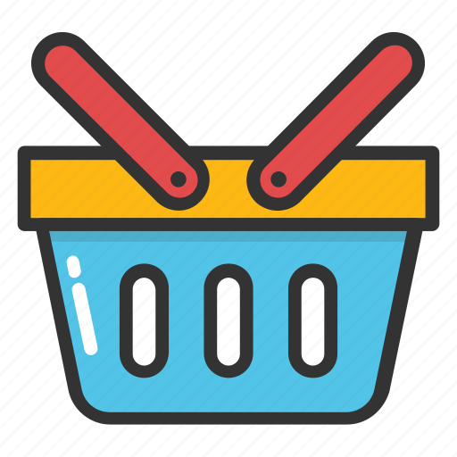basket, buy, hamper, hand basket, shopping icon