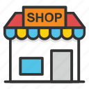 boutique, building, market, marketplace, shop, store icon