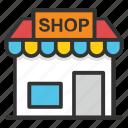 boutique, building, market, marketplace, shop, store