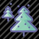 pine, snow, tree, decoration, holiday, plant, winter