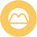 hill mountain, hill station, hilly area, mountain, mountain range, nature icon