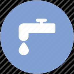 faucet, nal, plumbing, tap, valve, water nal icon
