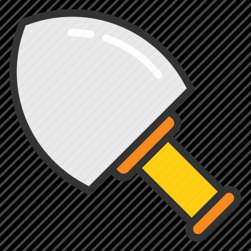 construction tool, gardening tool, shovel, spade, trowel icon