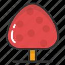 food, fungi, mushroom, toadstool, wild mushroom icon