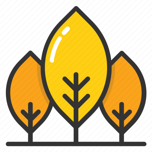 cypress trees, fir trees, greenery, nature, trees icon
