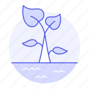 crop, farming, greenhouse, growth, hothouse, hydroculture, hydroponic, nature, plant, sprout icon