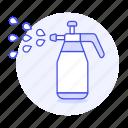 bottle, garden, gardening, handheld, nature, plant, spray, sprayer, watering