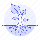 agriculture, development, farming, growth, nature, plant, tree icon
