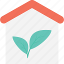 eco house, ecology, green house, house, leaf icon