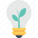 bulb, eco bulb, illumination, light, light bulb icon