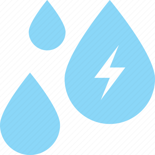 aqua, drop, river, sea, water icon