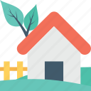 cottage, farm, farmhouse, rural house, village icon