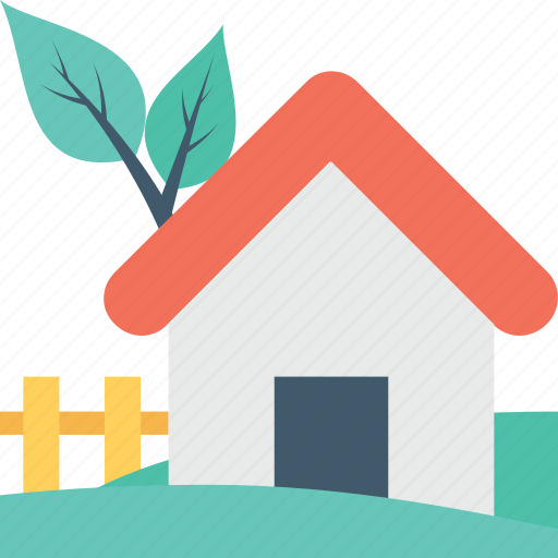cottage, farm, farmhouse, rural house, village icon