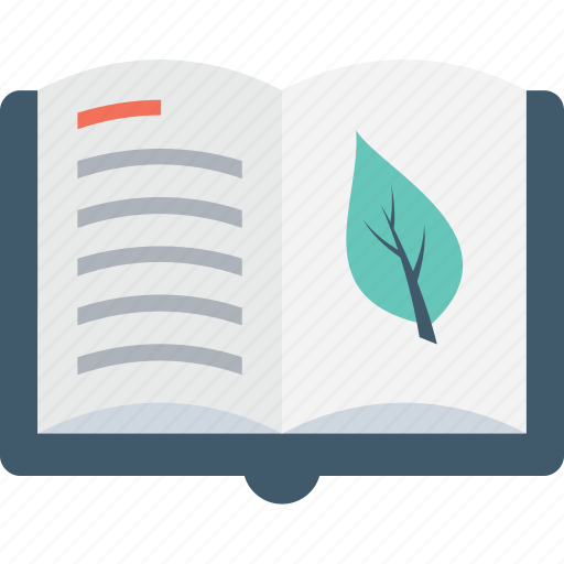 book, eco book, ecology, gardening book, knowledge icon