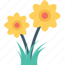 ecology, flower, gardening, nature, plant icon