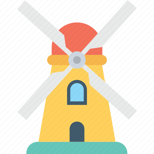 energy, power, wind energy, wind turbine, windmill icon