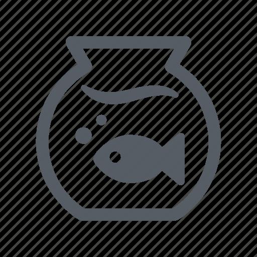 blub, fish, fishbowl, pet, water icon