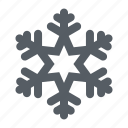 crystal, forecast, snow, snowflake, weather, winter icon