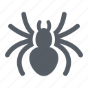 animal, halloween, insect, scary, spider, web icon