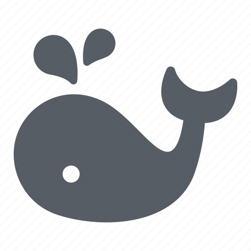 Animal, mammal, ocean, sea, underwater, whale icon - Download on Iconfinder