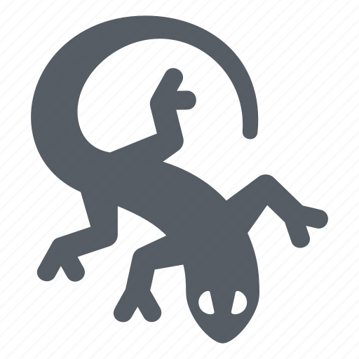 gecko, iguana, lizard, nature, reptile, salamander icon