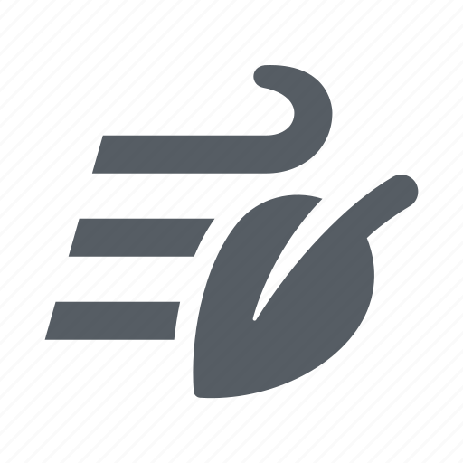 air, forecast, nature, weather, wind icon