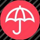 agent, insurance, nature, phenomenon, umbrella, weather icon