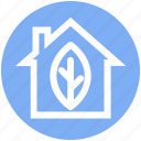 agriculture, ecology, house, leaf, natural, organic