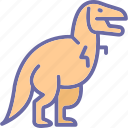 animal, dinosaur, rex, wildlife icon