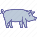 animal, boar, pig, wildlife icon