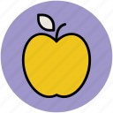 apple, apple fruit, food, fruit, healthy food, natural food, organic icon
